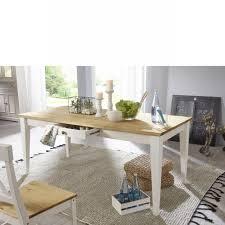 esstisch wz 0133 weiß eichefarbig kiefer massiv 180x90 küchentisch tisch