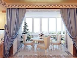 Dining Room Sets Lighting Ikea Chairs Cheap An Amazing Curtain For Bay Window Glamorous Interior Luxurious
