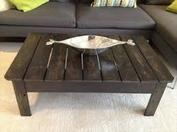 Coffee Table Made Out Of Pallets Awesome On From Scavenged