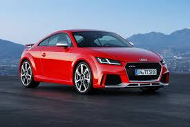 Audi goes Porsche hunting with new 395bhp TT RS Coupe and Roadster