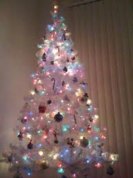 Unlit Artificial Christmas Trees Walmart by White Christmas Tree Walmart Pictures Reference Within White