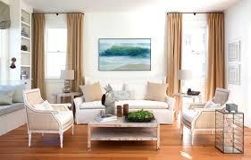 Coastal Loft Living Room Shabby Chic Style