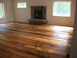 rubber flooring that looks like wood reclaimed types and their