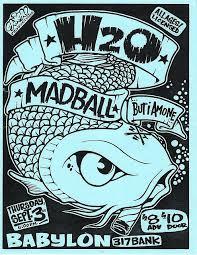 H2O Madball Punk Hardcore Flyer By Change Zine Via Flickr Rock PostersConcert PostersMusic