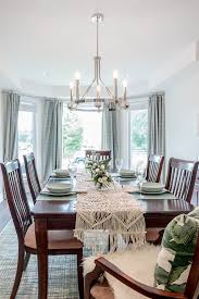 Captains Chairs Dining Room by Blog The Mirror And The Drape