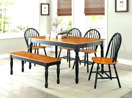 Black Dinette Set Kitchen Table And Chairs Round Sets Furniture Dining Room Discontinued