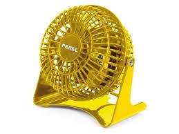 mini tischventilator gelb leise leicht flexibel