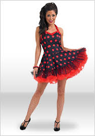 1950s Fancy Dress Costumes Outfits