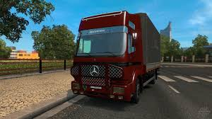 100 Euro Trucks MercedesBenz 1853 For Truck Simulator 2