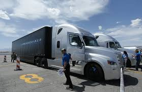 The First Self-driving Vehicle You See May Have 18 Wheels - The San ... Daimler Recalls More Than 4000 Freightliner Western Star Trucks Trucks North America Launches Inaugural Nacv Show With Announces 375 Million Investment To Bring New Medium The First Selfdriving Vehicle You See May Have 18 Wheels San Donates 1 Carolina Blue Rock Cstruction Inc Relies On Chronus For Mentoring Program In The Circuit Court Of Cabell County West Virginia Civil Action No More 7100 Tractors 500 Intertional Recalled Nfi Partners