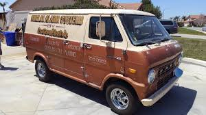 100 Econoline Truck BangShiftcom This 1971 Ford Van Is A Weekend Away From