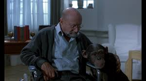 Donald Pleasence Halloween 5 by Donald Pleasence And Inga The Chimp Phenomena 1985 Animals In