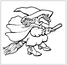 45 Witch Coloring Pages Uncategorized Printable