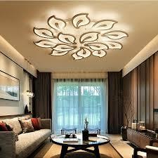 großhandel modernes acryl design deckenleuchten schlafzimmer wohnzimmer deckenleuchte led home lighting deckenleuchte ac90 260v laternen