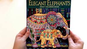 Elegant Elephants By Marjorie Sarnat