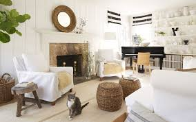 Black And Neutral Living Room
