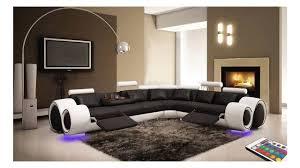 canapé d angle canapé en cuir d angle fresno très moderne pour