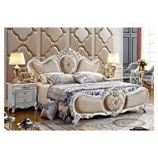 neue design luxus schlafzimmer sets massivholz bett