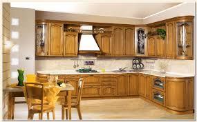 porte de cuisine en bois brut meuble cuisine bois massif photo de linterieur la maison blanche