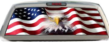 AMERICAN FLAG EAGLE PICK-UP TRUCK REAR WINDOW GRAPHIC DECAL ... Tampa Fl Mobile Advertising Rear Window Truck Graphics For Ford Graphic Decal Sticker Decals Custom For Cars Best Resource Realtree Camo 657332 Related Keywords Suggestions Stairway To Heaven Nw Sign Solutions See Through Perforation Fort Lauderdale American Flag Better Elegant Vuscape Made In Michigan Chevy Fire Car Suv Grim Pick Up