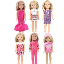 Amazoncom ZQDOLL 18inch American Girl Doll Clothes Dot Polka Dot