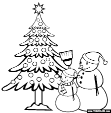 Christmas Online Coloring Pages