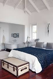 Beach House Bedroom With Crochet Bed Cover Decor Interiors Bungalow BedroomCape TownBeach