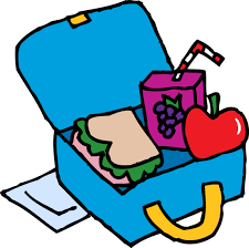 Box Free Blue School Lunchbox Clip Art