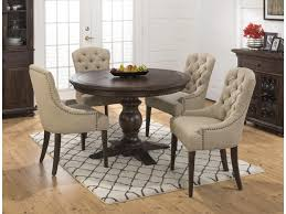 Evelyn 5-Piece Dining Table And Upholstered Chair Set By Jofran At Rotmans Sonoma Road Round Table With 4 Chairs Treviso 150cm Blake 3pc Dinette Set W By Sunset Trading Co At Rotmans C1854d X Chairs Lifestyle Fniture Fair North Carolina Brera Round Ding Table How To Find The Right Modern For Your Sistus Royaloak Coco Ding With Walnut Contempo Enka Budge Neverwet Hillside Medium Black And Tan Combo Cover C1860p Industrial Sam Levitz Bermex Pedestal Arch Weathered Oak Six