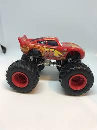 100 Lightning Mcqueen Truck Disney Cars 155 Custom Monster Products