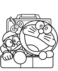 Doraemon Coloring Pages Free