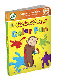 Curious George Toddler Bedding by Amazon Com Leapfrog Tag Junior Book Curious George Color Fun