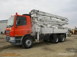 100 Concrete Pump Trucks Used DAF 75310 Concrete Pump Trucks Year 2007 Price US 62356