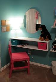 Small Desk Ideas Diy by Instead Of A Vanity I Was Thinking This Would Be Okay For A Small