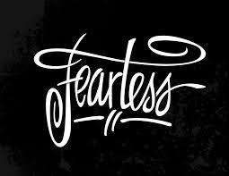 Fearless Hand Lettered Logo John Suder