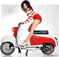Searched But Didnt Find A Photo Thread Dedicated To Good Looking Girls And Our Beloved Scooters