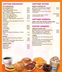 Dunkin Donuts Pumpkin Syrup Nutrition Facts by Dunkin Donut Nutrition Menu Nutrition Daily