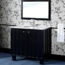 Single Sink Bathroom Vanity With Granite Top by In Series 36 Inch Traditional Single Sink Bathroom Vanity Black Finish