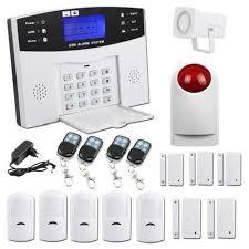 kit alarme maison sans fil gsm auto appel téléphonique antivol