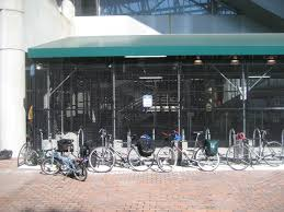 MBTA Alewife Station Bike Parking September 18 2008
