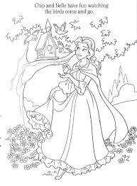 Play Princess Belle Online Coloring Game Y8
