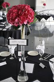 Inspirational Silver and Black Wedding Decorations black ires