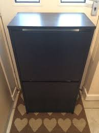 ikea bissa shoe cabinet in market harborough leicestershire