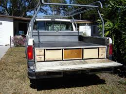 Lucky To Have Decked Truck Bed Storage — Jason Storage Bed
