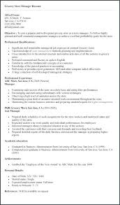Retail Store Manager Job Description Resume Perfect Business Grocery For From Example Examples Of Resumes Role