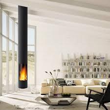 helles wohnzimmer mit freistehendem kamin bright living room