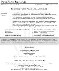 Labor And Delivery Nurse Resume Luxury Examples Format Of