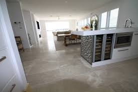 marble flooring contemporary kitchen sydney by