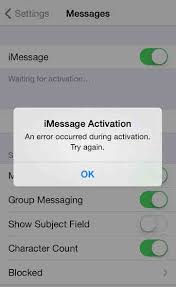 "iMessage ""Waiting for Activation"" Error on iPhone How to Fix"