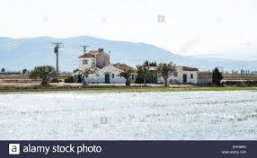 100 The Delta House A Farm House In The Delta Of The River Ebro In Spain Stock